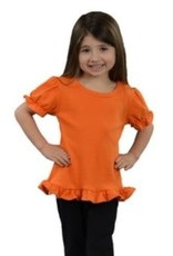 Monag Short Sleeve Ruffle Top