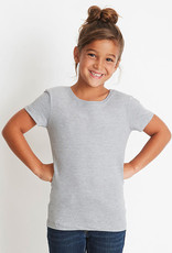 Next Level-Girls Princess Crew-100% Cotton