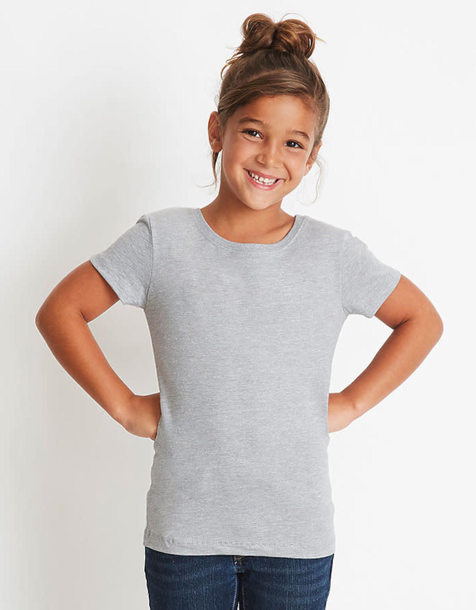 Next Level-Girls Princess Crew-100% Cotton