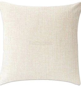 Sublimation Linen Pillow Case (15.75x15.75in)