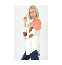 Premium Color Pockets Patch Top