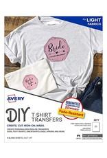 Avery Light Fabric Transfers-Ink Jet