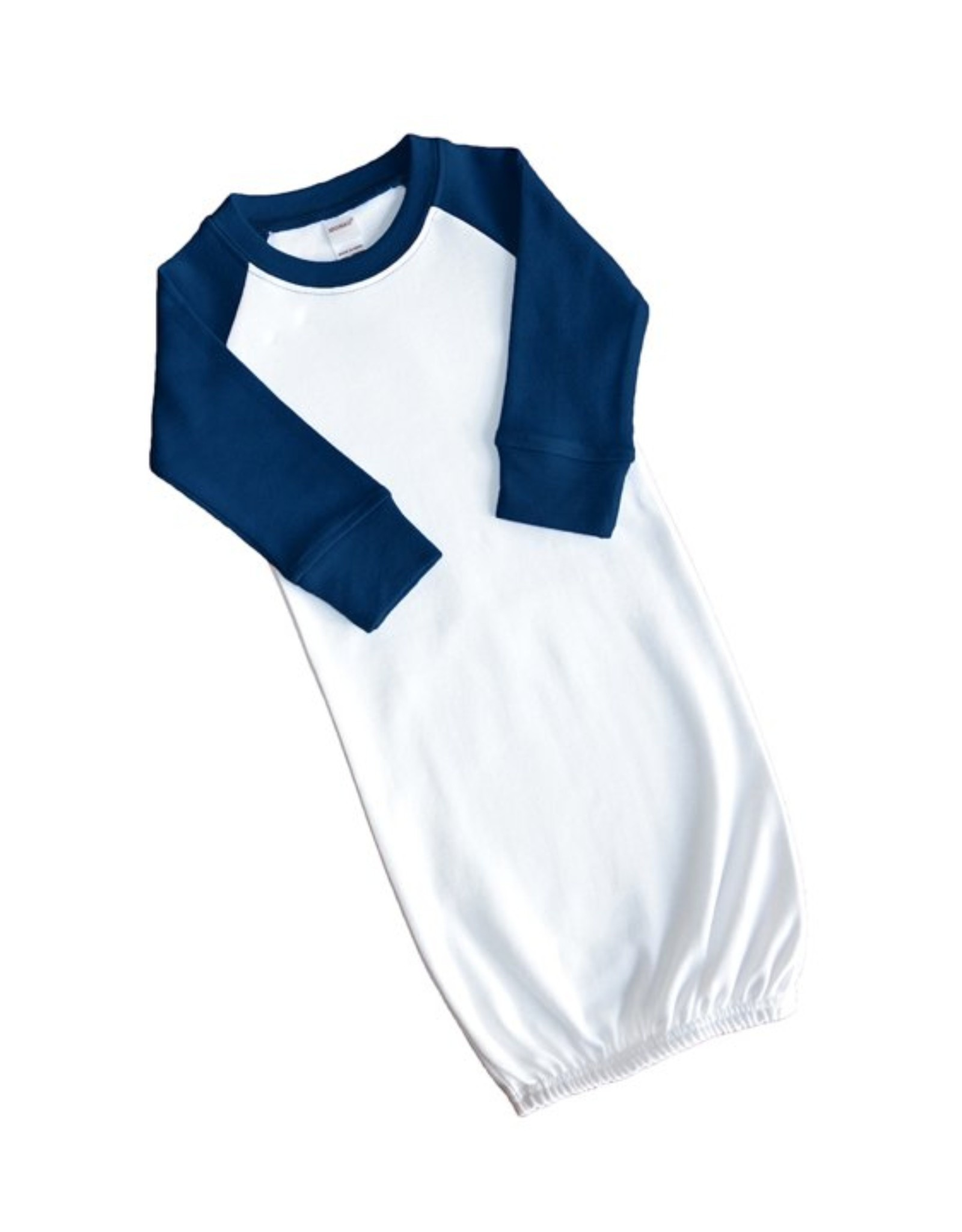 Monag Raglan Baby Gown