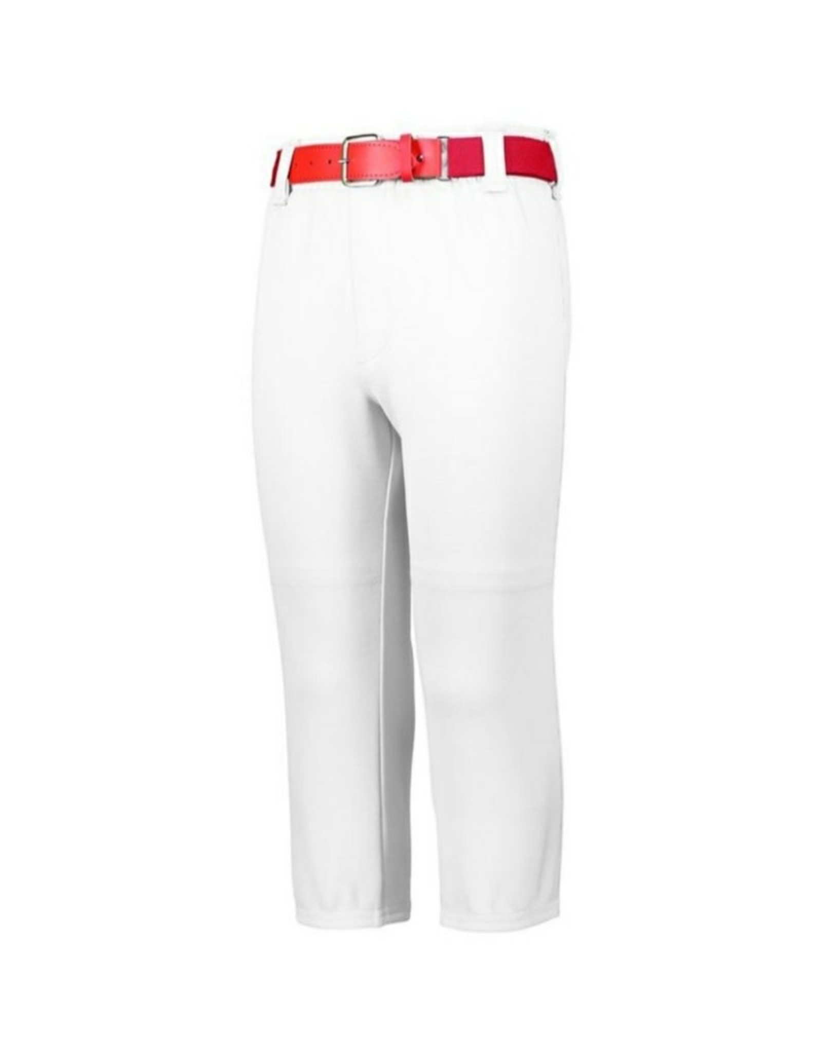 PRE-ORDER - Augusta Youth Pull-Up Baseball Pants w/Loops (White)