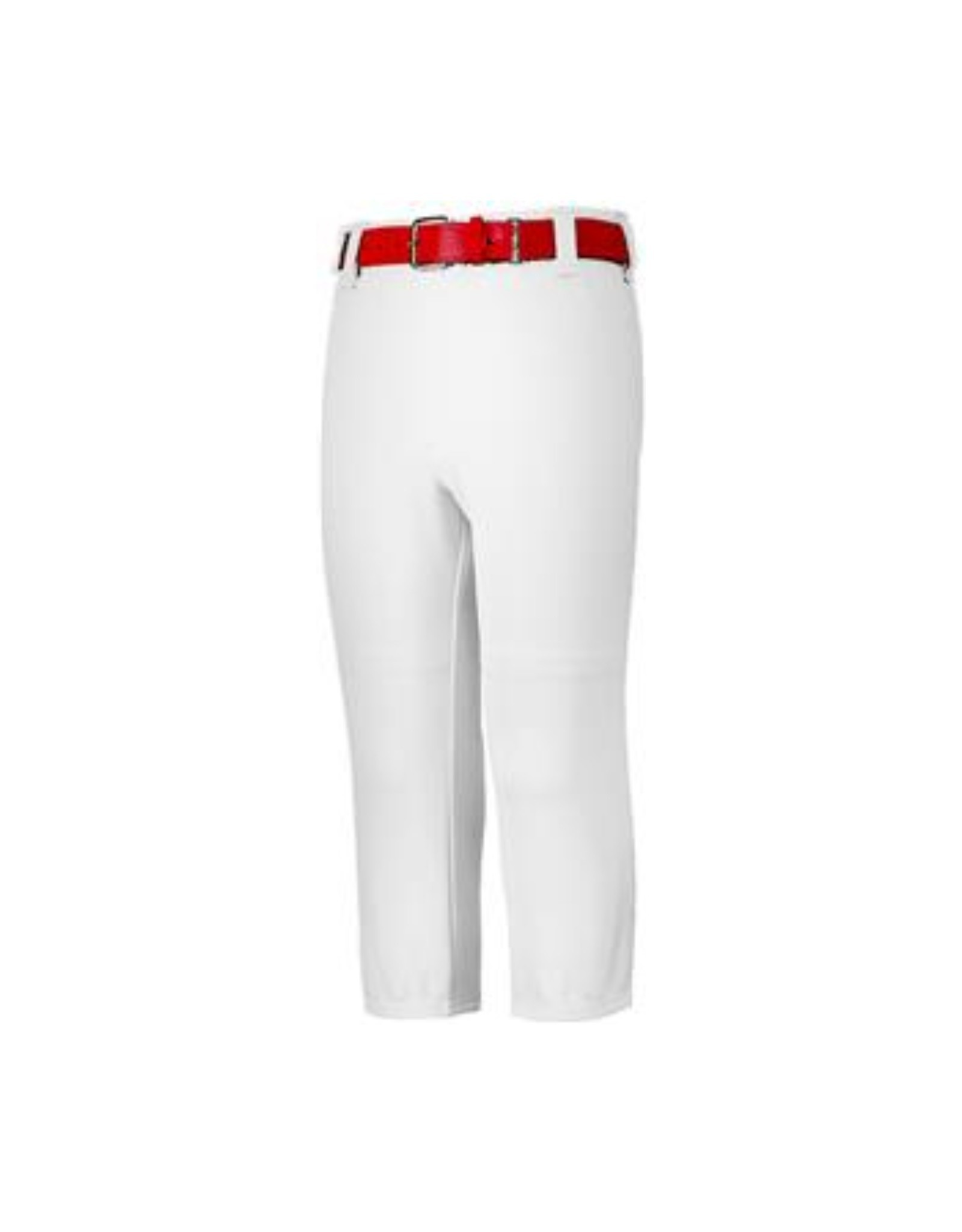 Augusta Adult Pull-Up Baseball Pants w/Loops (White)