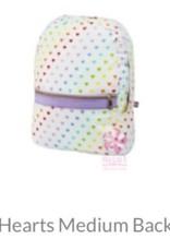 Oh Mint Seersucker Medium Backpack
