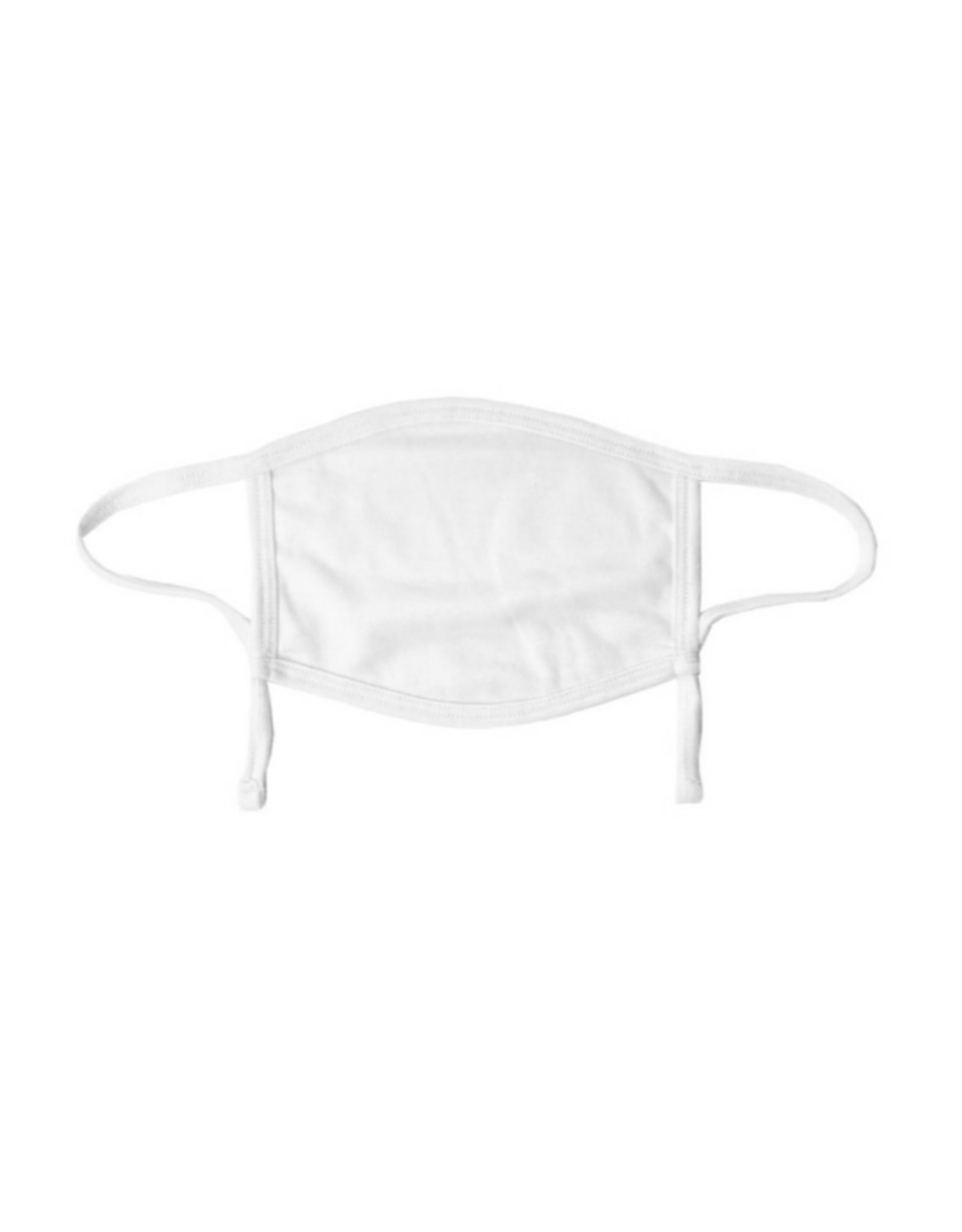 Adult White Adjustable Mask (Polyester)