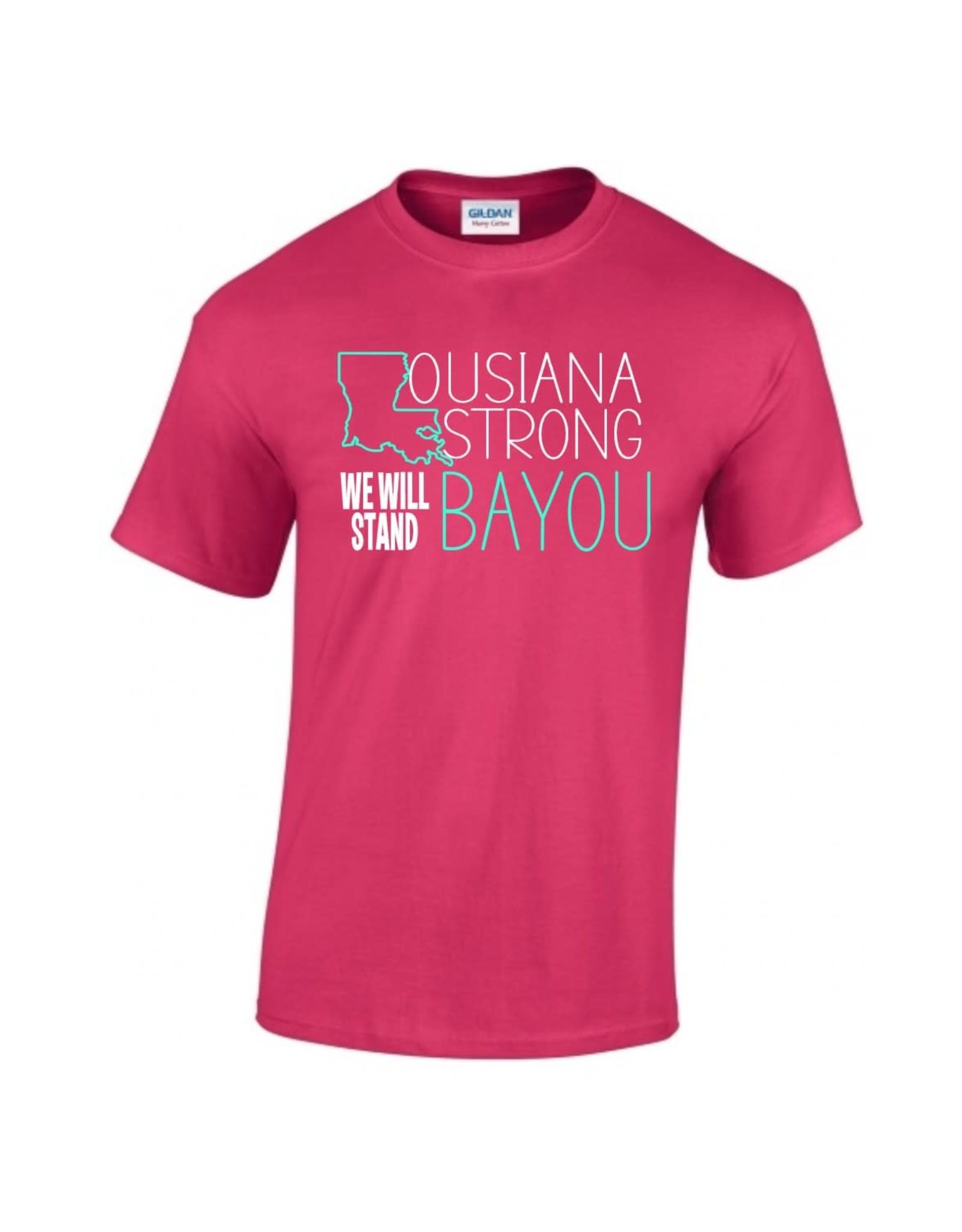 LA Strong Bayou (Pink)