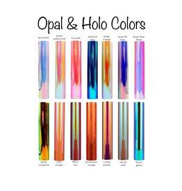 Opal/Holo Adhesive Permanent Vinyl (12x12 Sheet)