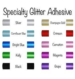 Glitter Adhesive Permanent Vinyl (12x12 Sheet)