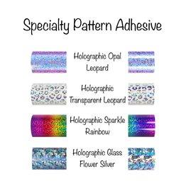 Patterned Adhesive Permanent Vinyl (12x12 Sheet)