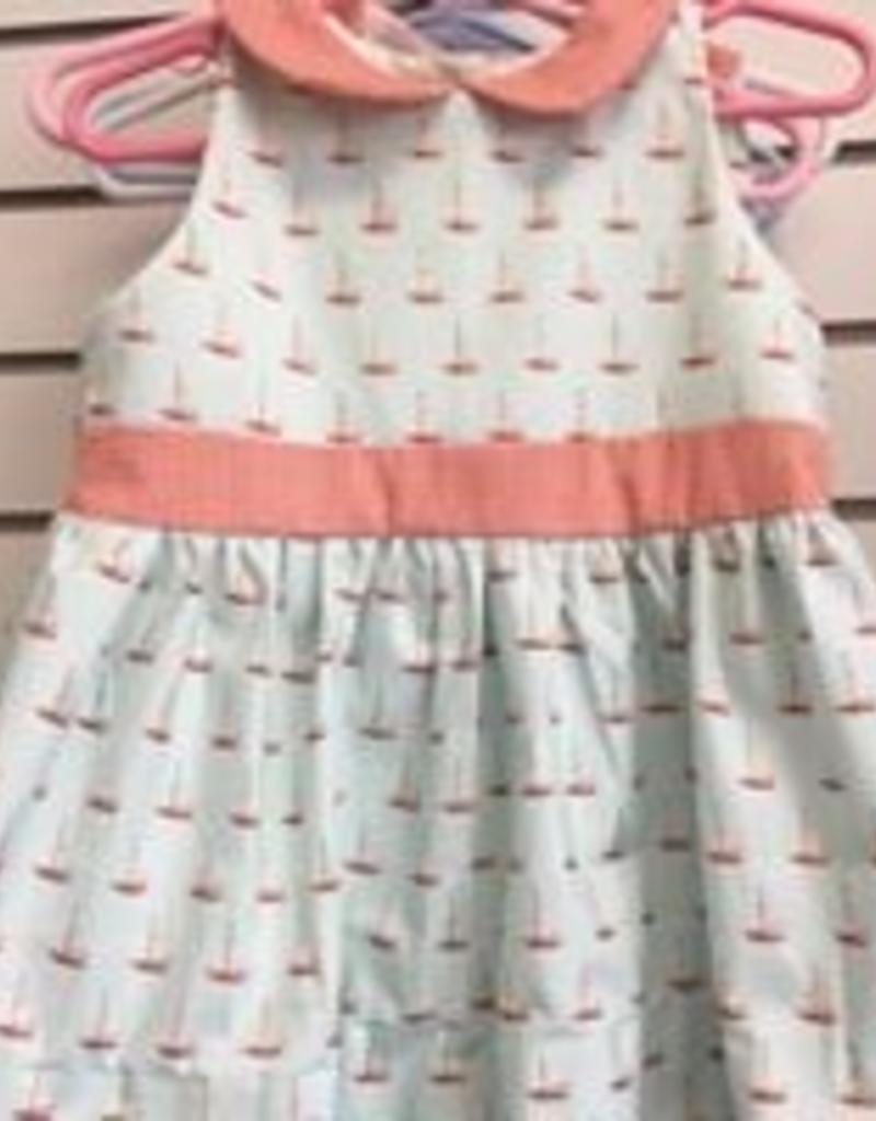 PEANUTS GALLERY PG SAILBOAT DRESS