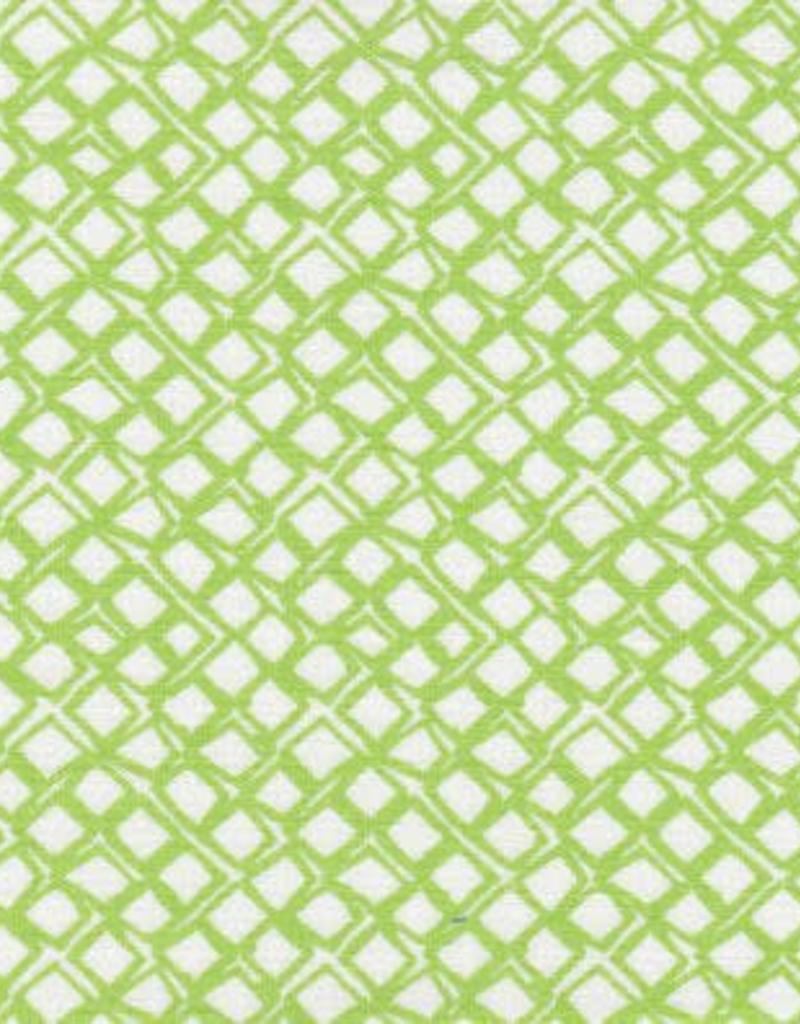 Fabric Finders FF 1641 Lime geo square