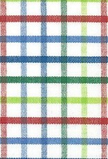 Fabric Finders FF TRICHECK t-044 BLUE/GREEN/RED