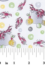 Fabric Finders FF 2146 CRAWFISH BOIL FABRIC