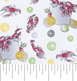 Fabric Finders FF 2146 CRAWFISH BOIL FABRIC