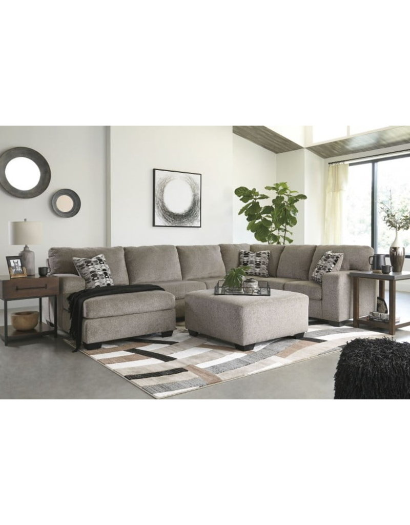 Ashley Furniture Ballinasloe 3pc Sectional