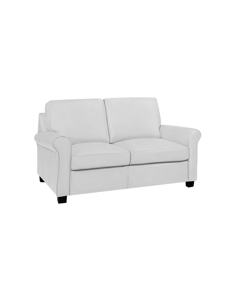 Lima Leather Loveseat
