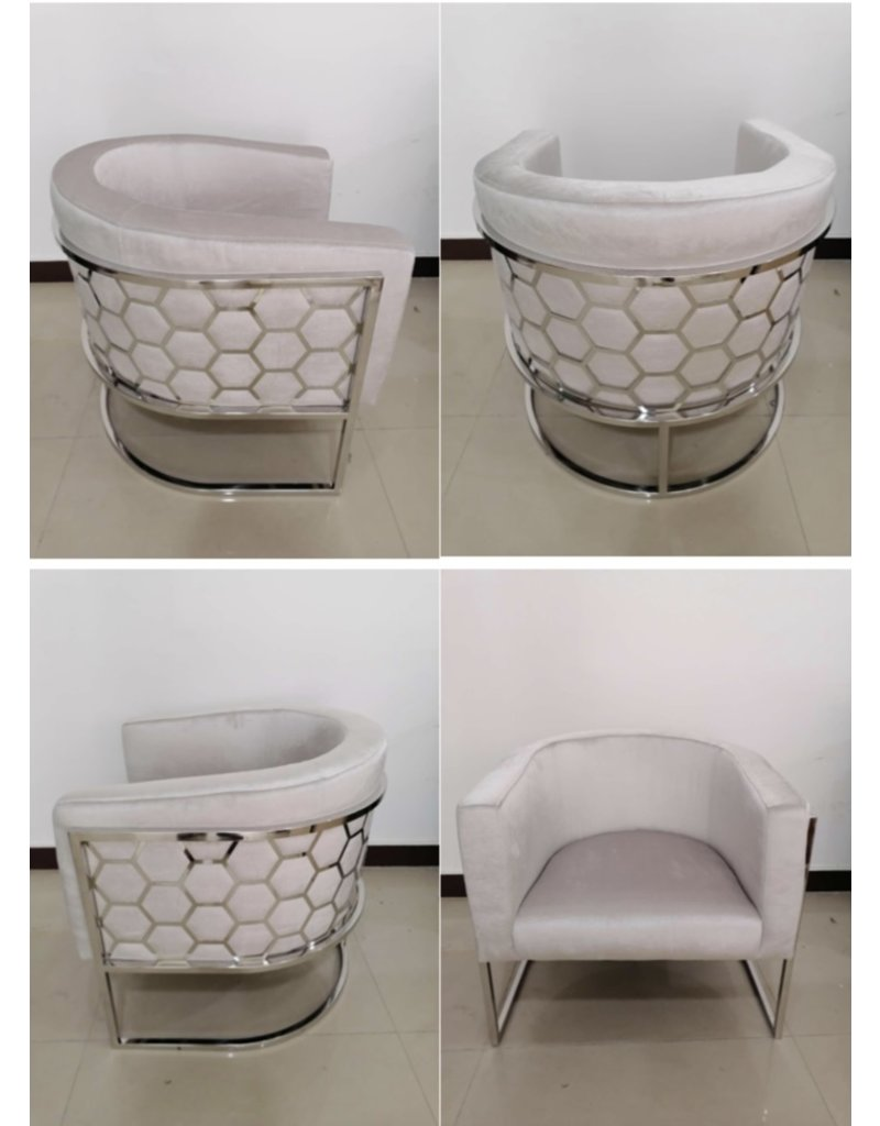 Xcella Honeycomb Accent Chair