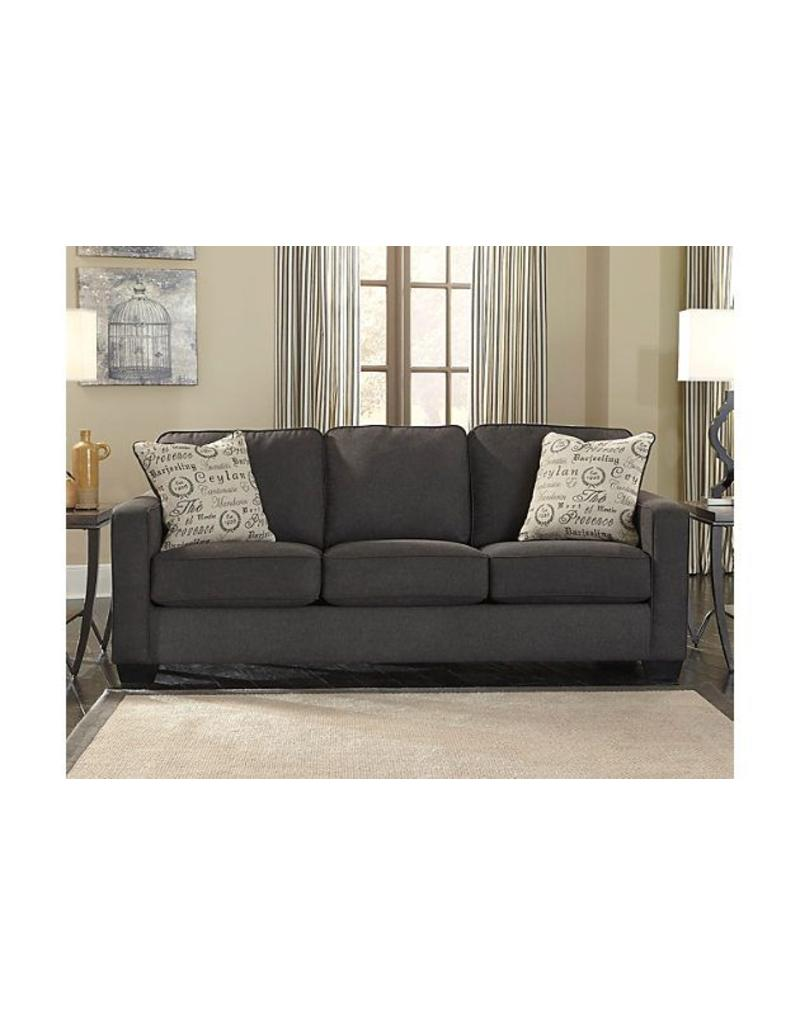 Alenya Sofa Charcoal Livin Style Furniture