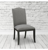 Xcella Valerie Slate Grey Dining Chair