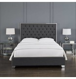 Xcella Kroma Slate Grey Queen Bed