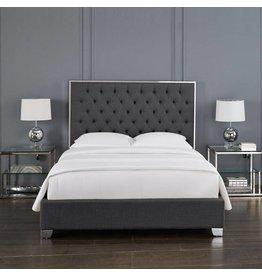 Xcella Kroma Salte Grey Queen Bed