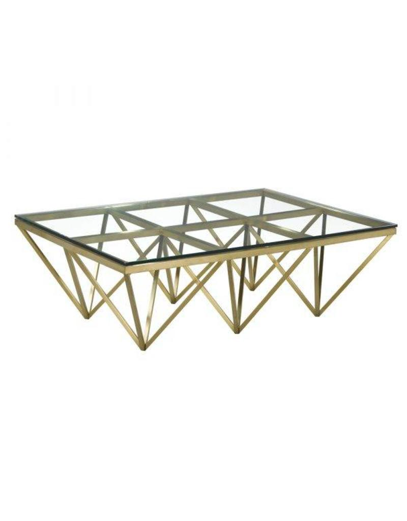 Xcella Valentino Gold Coffee Table