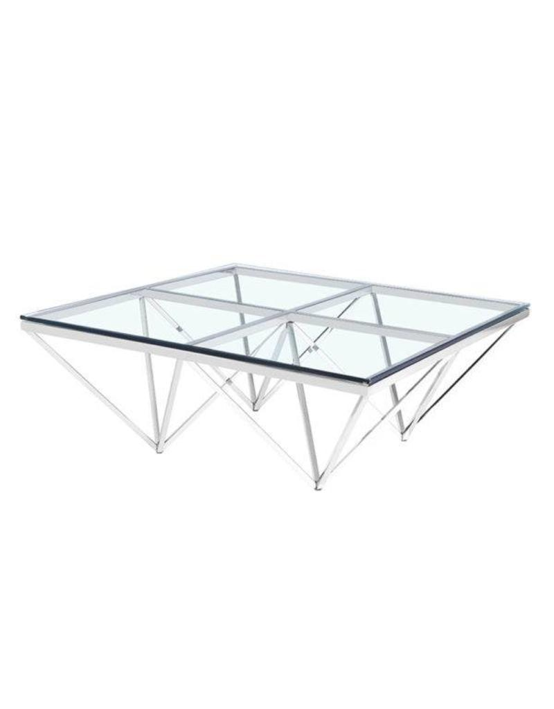 Xcella Luxor Silver Coffee Table