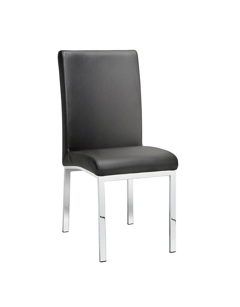Xcella Victor Grey Leatherette Dining Chair