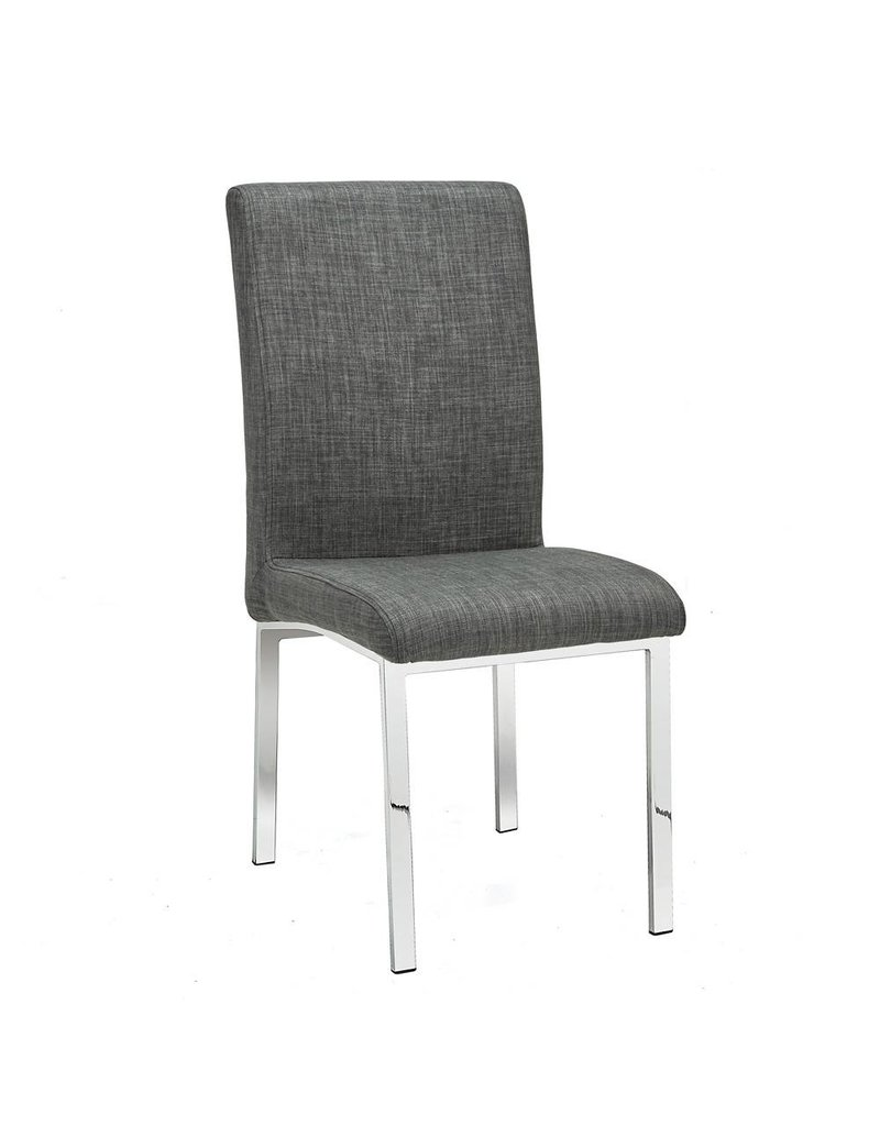 Xcella Victor Grey Fabric Dining Chair