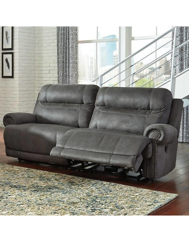 Swell Austere Power Reclining Sofa Grey Home Interior And Landscaping Mentranervesignezvosmurscom
