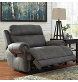 Ashley Furniture Austere Power Reclining Chair- Grey