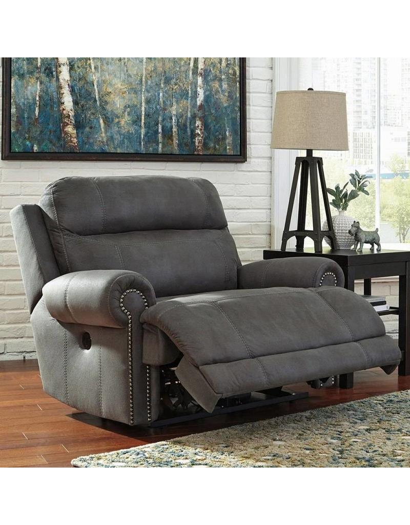 Austere Power Reclining Chair Grey