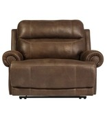 Ashley Furniture Austere Power Reclining Chair- Brown