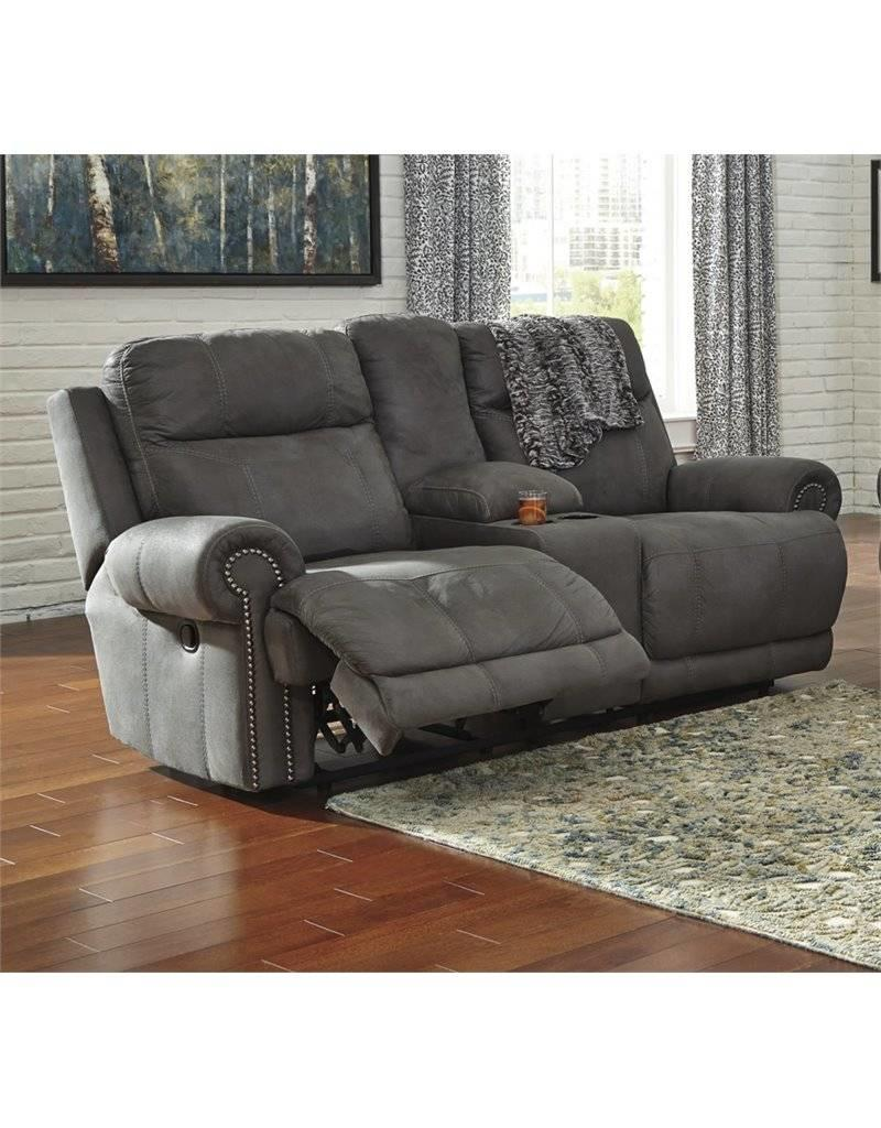 Austere Power Reclining Loveseat Brown Livin Style Furniture