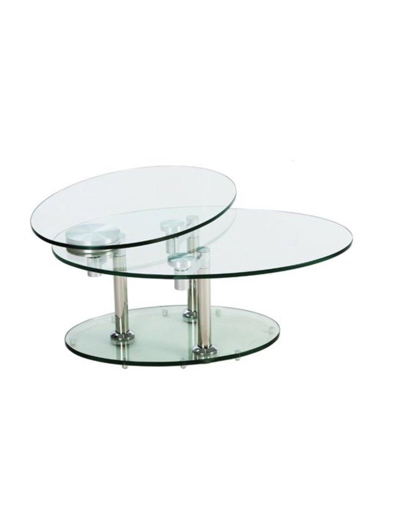 Creative Home Decor Hanson Swivel Coffee Table