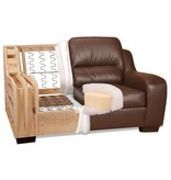 Leather Living Metro Leather Loveseat