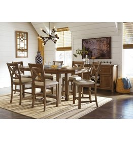 Ashley Furniture Moriville 7 Piece Counter Height Dining Set