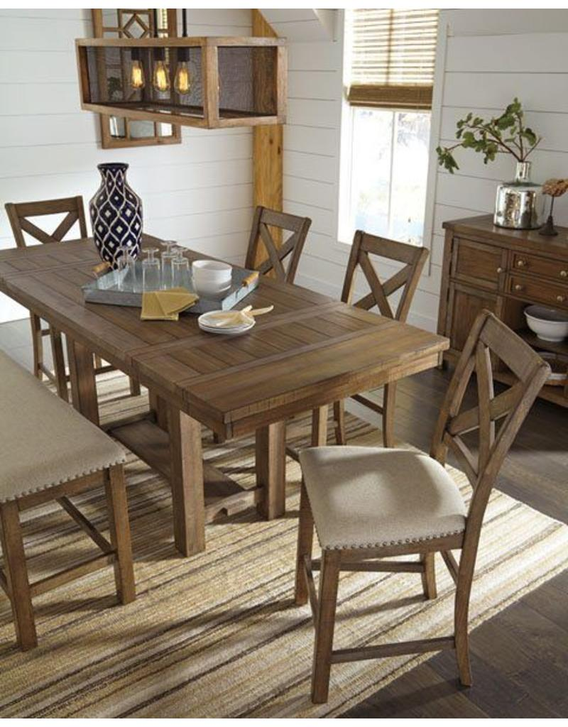 Ashley Furniture Moriville 6 Piece Counter Height Dining Set