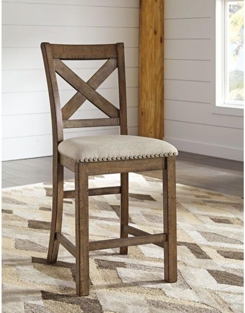 Ashley Furniture Moriville 7pc Counter Height Dining Set