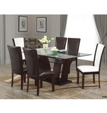 Brassex Ambrose 7 Piece Dining Set