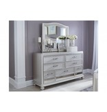 Ashley Furniture Coralayne 6 pc King UPH Bedroom Set