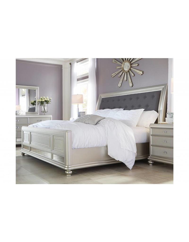 Ashley Furniture Coralayne  6 pc King Bedroom Set