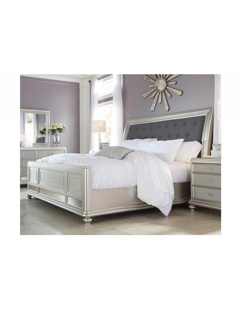 Ashley Furniture Coralayne King Panel Bed