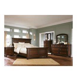 Ashley Furniture Porter 6 pc King Panel Bedroom Set