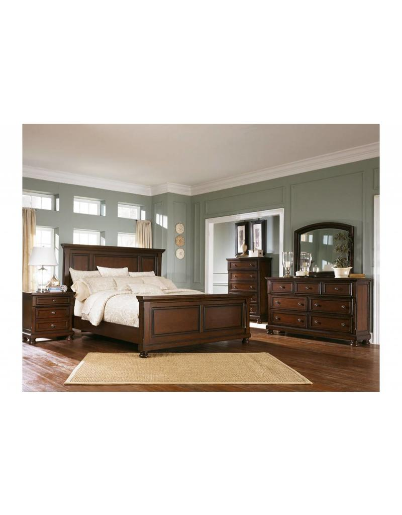 Ashley Furniture Porter 6 pc King Panel Bedroom Set