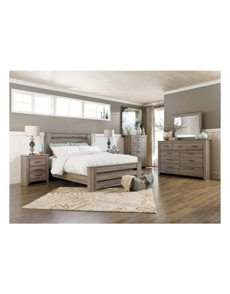 Zelen 6 Piece Bedroom Set King Bed - Livin Style Furniture