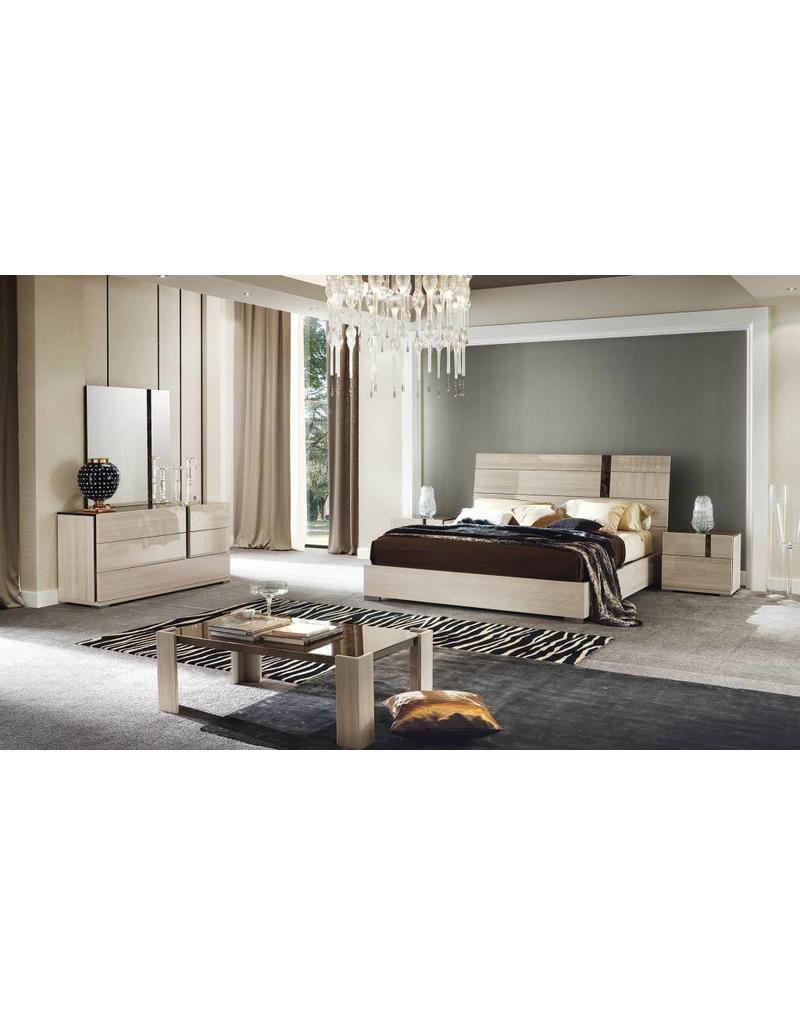 Teodora 6 Piece Bedroom Set Queen Bed - Livin Style Furniture