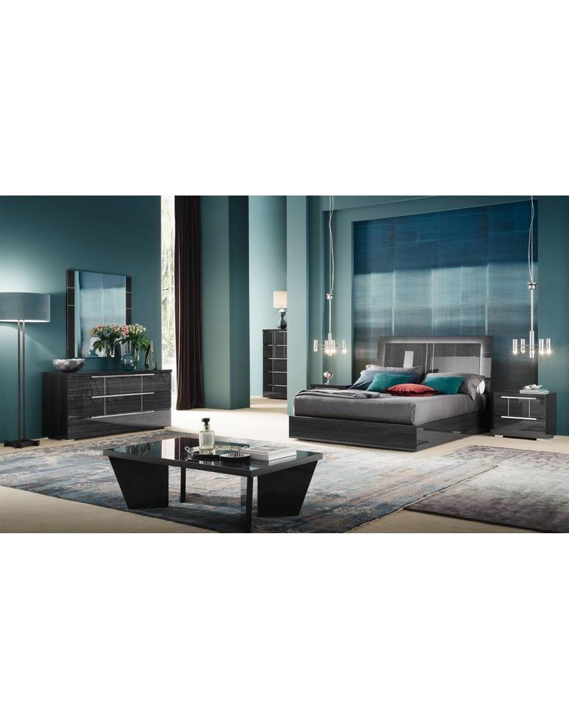 Alf Elegance Bedroom Set: Versillia 6pc Bedroom Set Queen Bed